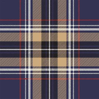 Retro check tartan seamless pattern.