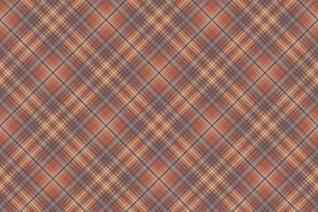 Retro check tartan seamless pattern.