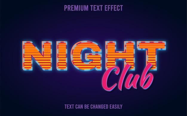 Retro classic text effect