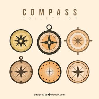 Retro compass set