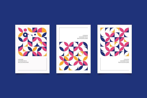 Ретро обложка геометрический дизайн