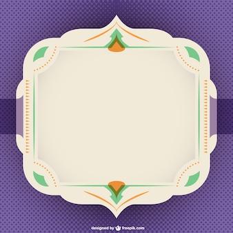 Retro design for frame