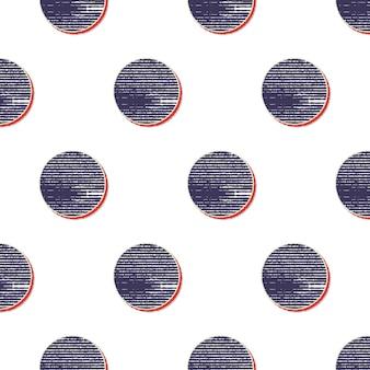 레트로 도트 패턴, 80년대, 90년대 스타일의 추상적인 기하학적 배경. 기하학적 간단한 그림