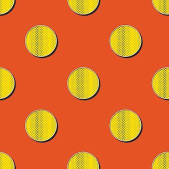 Шаблон ретро точек, абстрактный геометрический фон в стиле 80-х, 90-х годов. простая геометрическая иллюстрация