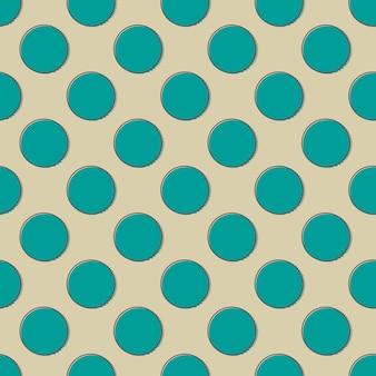 Шаблон ретро точек. абстрактный геометрический фон в стиле 80-х, 90-х годов. простая геометрическая иллюстрация
