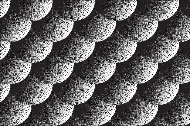 Retro dotwork texture background