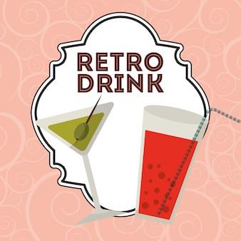 Retro drink