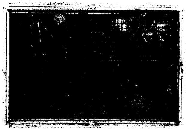 Retro empty grunge frame background
