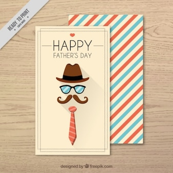 Retro father's day card