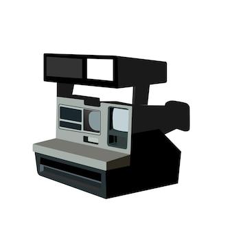 Ретро пленочный фотоаппарат, изолированные на белом фоне