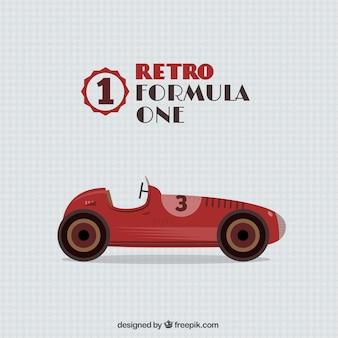 Ретро формула один автомобиль