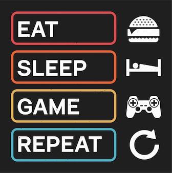 Retro game t shirt sticker design