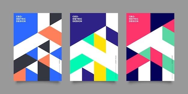 Retro geometric cover collection