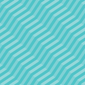 Retro geometric diagonal zigzag seamless pattern - vector