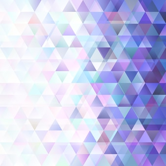 Retro geometric gradient triangle pattern background design