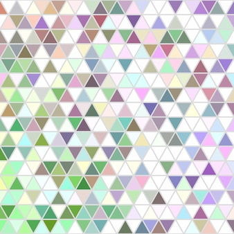 Retro geometric regular triangle pattern background design