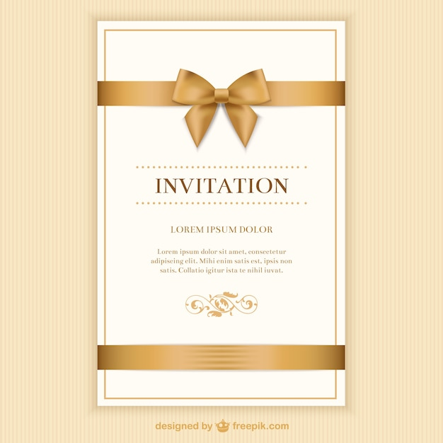 Invite Vectors Photos and PSD files Free Download