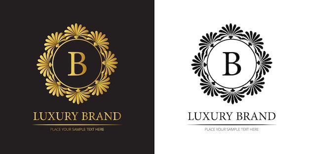 Retro laxury brand logo