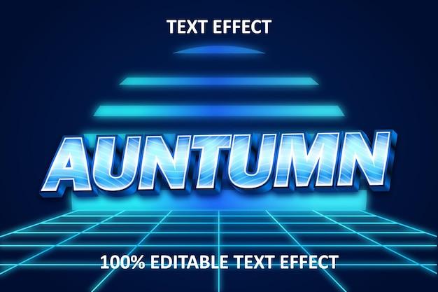 레트로 라이트 편집 가능한 텍스트 효과 조명