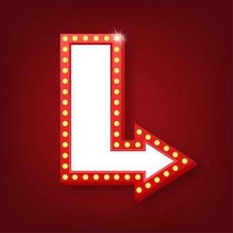 Ретро лайтбокс рекламный щит винтажная рамка. лайтбоксы с настраиваемым. классический баннер для ваших проектов или рекламы.