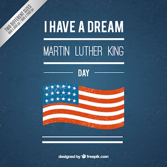 Retro martin luther king background