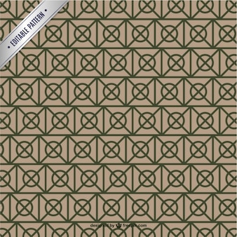 레트로 모자이크 패턴