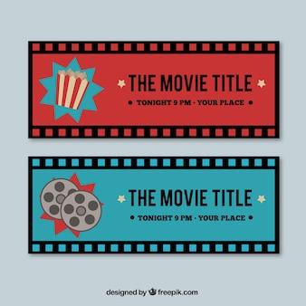 Ретро баннеры кино