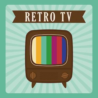 Retro objects vintage design