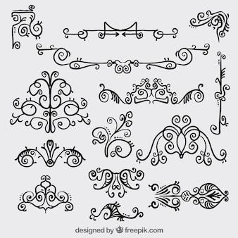 レトロな装飾用の装飾