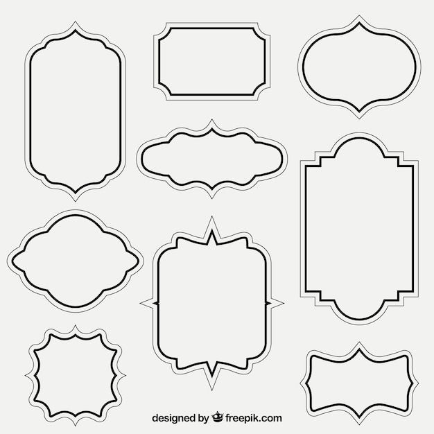 frame vectors photos and psd files free download rh freepik com vector picture frame picture frame vector pack