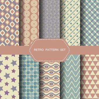 Retro pattern set