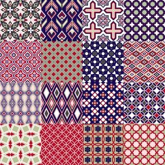 레트로 패턴 컬렉션