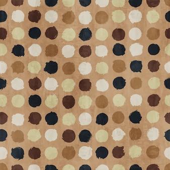 Retro polka dot seamless pattern