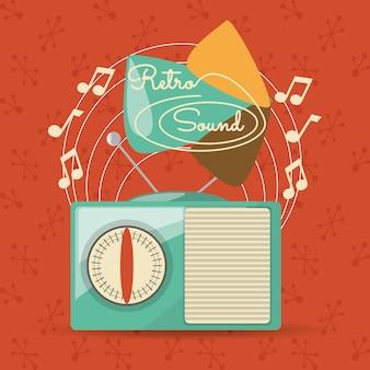 Ретро радио для прослушивания музыки станции