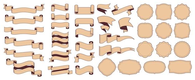 Ретро-ленты и рамки