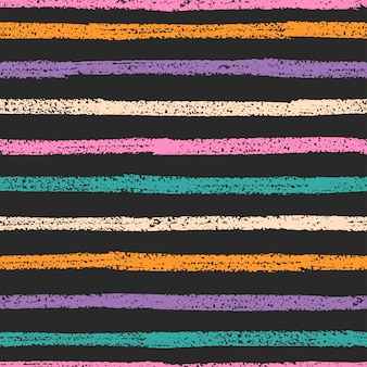 Retro seamless pattern with stripes.