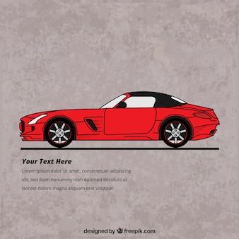 Sport car retro