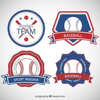 Retro sport insignias