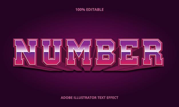 Retro sport style, editable font effect