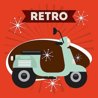 Retro style icon design, vector illustration eps10 graphic