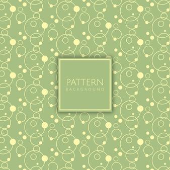 Retro styled pattern background