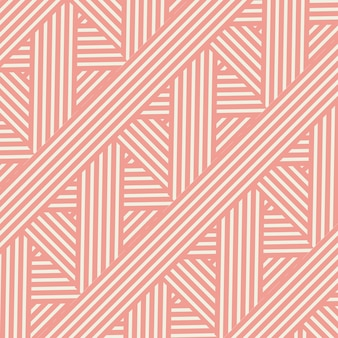 Retro styled striped pattern design