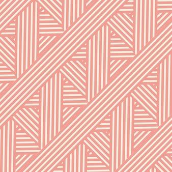 レトロなスタイルの縞模様のデザイン