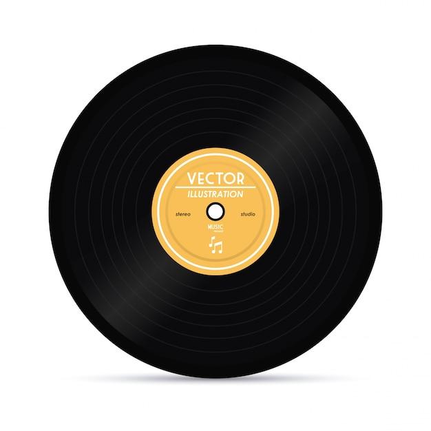 vinyl vectors photos and psd files free download rh freepik com retro vinyl record vector vinyl record vector art