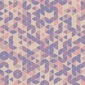 Retro triangle design background