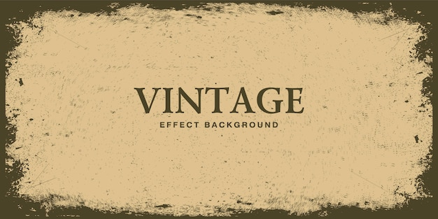 Retro vintage background with grunge texture