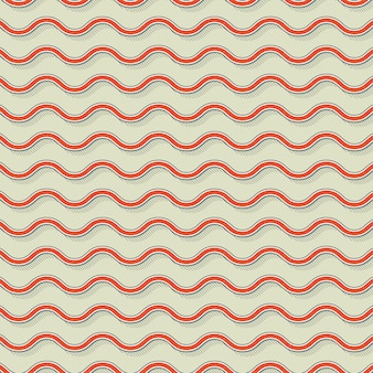 Retro waves pattern, abstract geometric background in 80s, 90s style. geometrical simple illustration