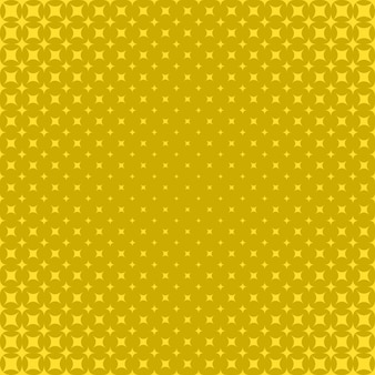 Ретро желтый полутоновый фон - векторный клипарт с изогнутыми фигурами
