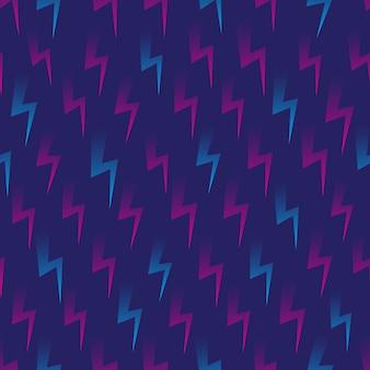 フラッシュ形状retrowaveシームレスパターン