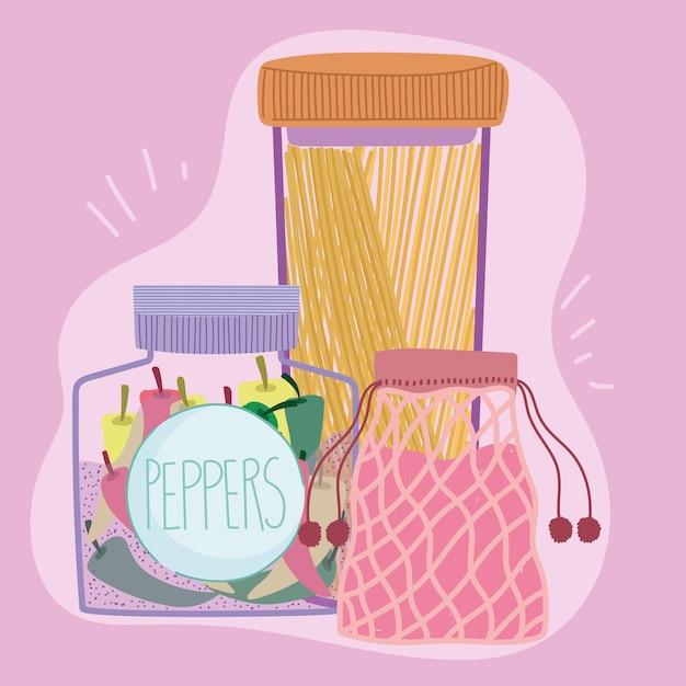 再利用可能な容器食品
